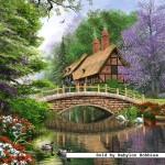 castorland-puzzel-1000-stuks-huisje-aan-de-rivier-102365