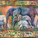 castorland-puzzel-1000-stuks-olifantenparade-102747