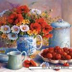 castorland-puzzel-1500-stuks-meadow-flowers-and-cherries-trisha-hardwick-150786