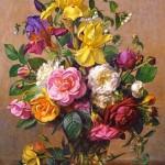 castorland-puzzel-1500-stuks-summer-flowers-in-a-glass-vase-albert-williams-151028