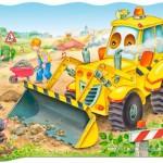 castorland-puzzel-20-stuks-bulldozer-in-actie-02139