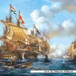 castorland-puzzel-2000-stuks-battle-of-porto-bello-1739-200245
