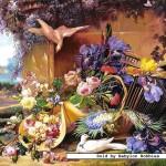 castorland-puzzel-2000-stuks-elegant-stil-leven-met-bloemen-eugene-bidau-200276