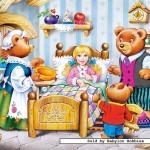 castorland-puzzel-260-stuks-goudlokje-en-de-3-beren-26333