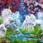 castorland-puzzel-260-stuks-unicorn-rendezvous-26883