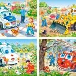 castorland-puzzel-30-stuks-gekke-voertuigen-04201