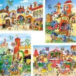 castorland-puzzel-30-stuks-ridderavonturen-04195
