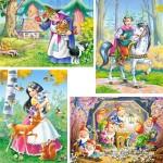 castorland-puzzel-30-stuks-sneeuwwitje-en-de-zeven-dwergen-04188