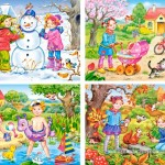 castorland-puzzel-30-stuks-vier-seizoenen-04171