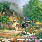 castorland-puzzel-3000-stuks-rose-lane-house-300235