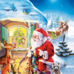 castorland-puzzel-500-stuks-de-kerstman-komt-50963