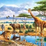castorland-puzzel-70-stuks-savanna-en-jungle-021031