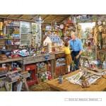 gibsons-puzzel-1000-stuks-michael-herring-grandad-s-workshop-g6061