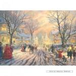gibsons-puzzel-1000-stuks-thomas-kinkade-victoriaans-kerstgezang-g6111