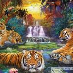 ravensburger-puzzel-3000-stuks-tijgers-bij-de-drinkplaats-170579