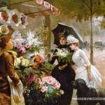castorland-puzzel-1000-stuks-flower-stand-in-paris-102921