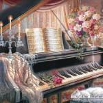 castorland-puzzel-1000-stuks-sonata-by-firelight-judy-gibson-102648