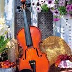 castorland-puzzel-1000-stuks-violin-s-melody-102266
