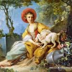 castorland-puzzel-1500-stuks-jonge-vrouw-met-een-hond-151219