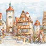 castorland-puzzel-1500-stuks-rothenburg-ob-der-tauber-plonlein-151059