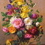 castorland-puzzel-1500-stuks-summer-flowers-in-a-glass-vase-albert-williams-151028