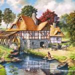 castorland-puzzel-2000-stuks-water-mill-cottage-200498