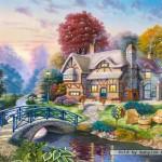 castorland-puzzel-3000-stuks-huisje-in-de-herfst-300181