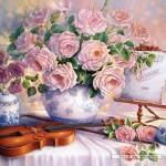 castorland-puzzel-3000-stuks-rozen-voor-de-soiree-trisha-hardwick-300341