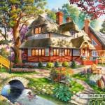 castorland-puzzel-4000-stuks-idyllische-avond-400072