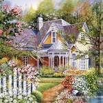 castorland-puzzel-500-stuks-gele-huis-aan-het-water-51878