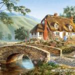 castorland-puzzel-500-stuks-huisje-aan-de-brug-51694