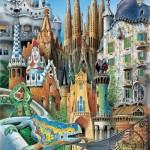 educa-puzzel-1000-stuks-collage-gaudi-11874