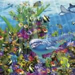 educa-puzzel-3000-stuks-dolphin-reef-16020