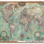 educa-puzzel-4000-stuks-map-of-the-world-14827