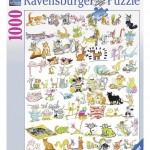 ravensburger-puzzel-1000-stuks-101-katten-en-1-muis-193912