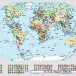 ravensburger-puzzel-1000-stuks-political-world-map-156528