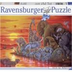 ravensburger-puzzel-500-stuks-avondrood-in-afrika-142880