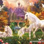 ravensburger-puzzel-500-stuks-betoverende-eenhoorns-141951