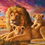 ravensburger-puzzel-500-stuks-leeuwenfamilie-142521