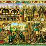 schmidt-puzzel-1000-stuks-colin-thompson-boomhuizen-59402