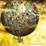 schmidt-puzzel-1000-stuks-colin-thompson-fantastische-ballonvaart-59400