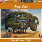 schmidt-puzzel-1000-stuks-jacek-yerka-eb-en-vloed-59267