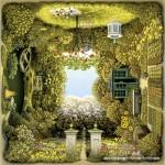 schmidt-puzzel-1000-stuks-jacek-yerka-romantische-tuin-58778