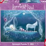 schmidt-puzzel-1000-stuks-lorrie-mc-faul-fee-en-eenhoorn-59263