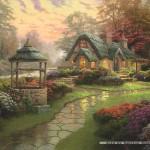 schmidt-puzzel-1000-stuks-thomas-kinkade-cottage-58463