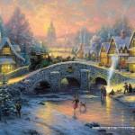 schmidt-puzzel-1000-stuks-thomas-kinkade-dorp-in-de-winter-58450