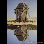 schmidt-puzzel-500-stuks-jacek-yerka-windmolen-in-spiegelbeeld-59510