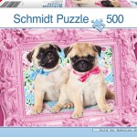 schmidt-puzzel-500-stuks-mooie-hondjes-57358